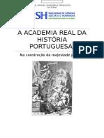 A Academia Real Da História Portuguesa Na Construção Da Imagem de D. João V