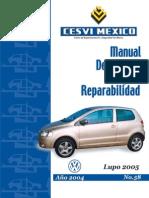 Manual de Reparabilidad VW Lupo