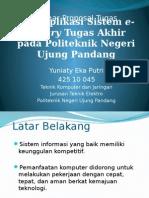 Web Aplikasi Sistem e-library Tugas Akhir pada Politeknik.pptx