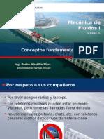 mecanica de fluidos - Conceptos Fundamentales