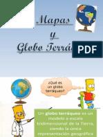 Clase 03 Marzo Mapa y Globo Terráqueo