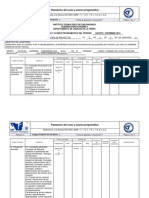 Formulación y EP Plan de Curso AD 2014