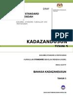 (427873287) Dokumen Standard Kurikulum Dan Pentaksiran Bahasa Kadazandusun Tahun 5