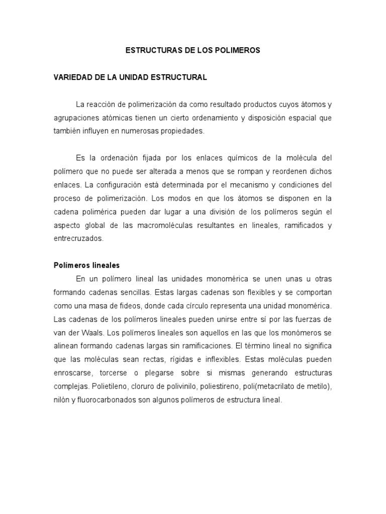 Estructuras de Los Polimeros (1)
