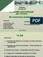 Fiscalité International