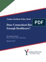 Does Connecticut Have Enough Healthcare?