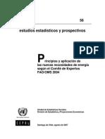 Uso de Requerimientos Energeticos 2004