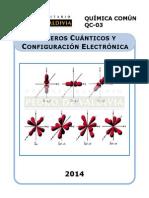 QC03Números Cuánticos y Configuración Electrónica