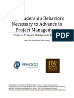 Key Leadership Behaviors 2013 BW PRADCO