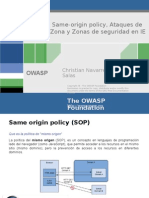 Same-Origin Policy y Ataques de Zona