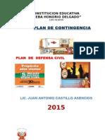 Defensa Civil Plan Contin Gencia i e