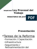 Ley Procesal Del Trabajo - Introduccion