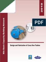design and fabrication of banki turbine