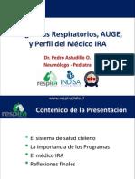 103. P. Astudillo - Los Programas Respiratorios, El Auge y El Perfil Del Medico Ira