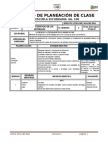 Registro de Planeación de Clase
