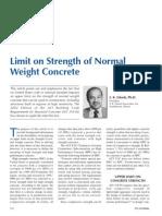 PCI Nov01 Limit on Strength