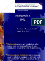 Presentacion UML Espanol Corta 11