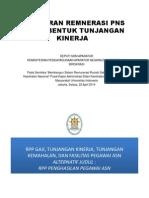 Peraturan Remunerasi PNS (MENPAN)
