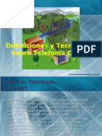 Definiciones de Telefonia Celular