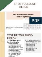 Test de Toulouse- Pieron