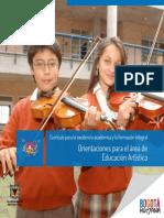 Orientaciones EDUCACION_ARTISTICA