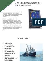 Aplicacion en Una Embarcacion de Pesca Industrial