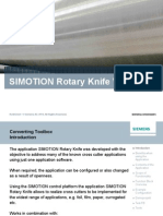 SIMOTION Rotary-Knife V3 0