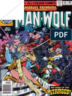 Marvel Premiere 46 Man Wolf