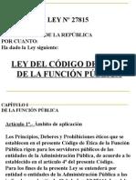 Ley Cod. Etica Fp.