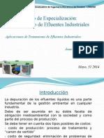 Tratamiento de Aguas Residuales Industriales
