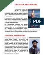 CORRIENTE PICTORICA IMPRESIONISMO