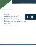 Target Internet Giving Summary 2008