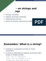 Cs100 2014F Lecture 05 String Methods