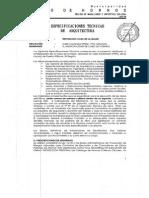 Especificaciones Técnicas Reposición Casa de La Mujer29102014