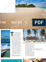 Maldives - Water's Edge Article
