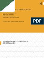 Herramientas y Equipos - Obras Prov - Trabajos Prelim -Seguridad y Salud