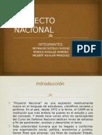 Proyecto Nacional Exposicion