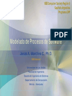 Conferencia Modelado de Procesos SW