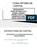 estructuraptimadecapital-130122181919-phpapp01
