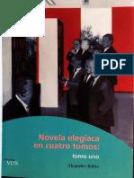 Rubio - Novela elegíaca en cuatro tomos