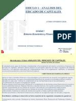 analisis de mercado de capitales