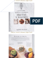 Tecnicas Culinarias Frutas y Postres-Le Cordon Bleu