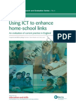 Using ICT to enhance home-school links