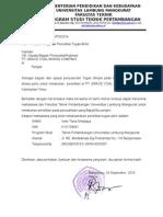 Surat Pengantar TA PT. Gracwe Coal Mining