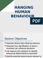 Changing Human Behaviour