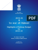 E-Books on Rail Budget 2015 & Ministry of Railways