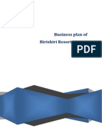 a report on Business Plan of Birishiri Resort Project