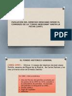 Historia del derecho mexicano Exposición Unidad 10