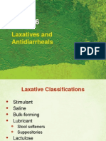 Laxatives & Antidiarrheals Use