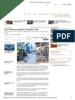 Sun Pharma Completes Ranbaxy Deal